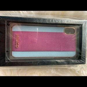 Mimco XS Max phone cover